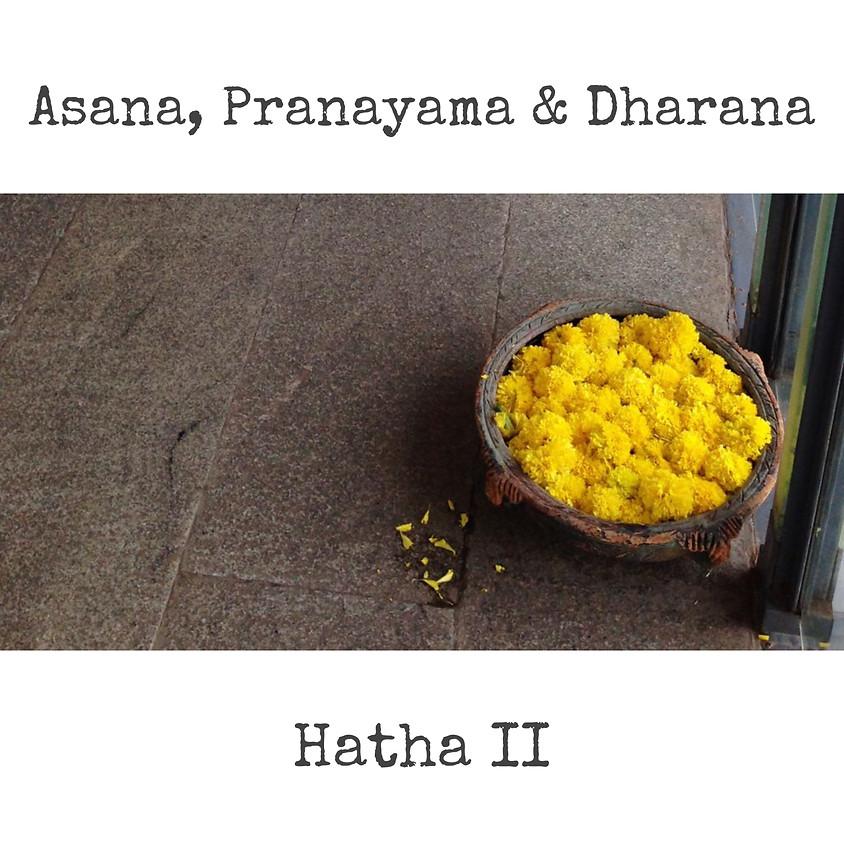 Asana, Pranayama & Dharana con Glenda - Hatha II