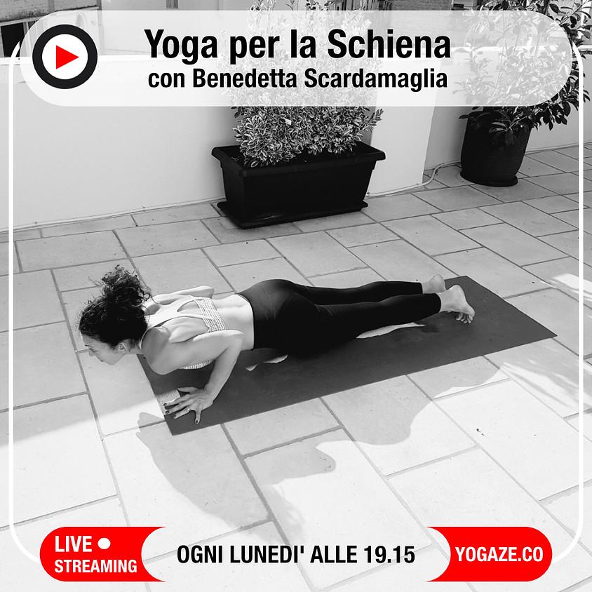 Yoga per la Schiena con Benedetta Scardamaglia - Per Tutti i Livelli