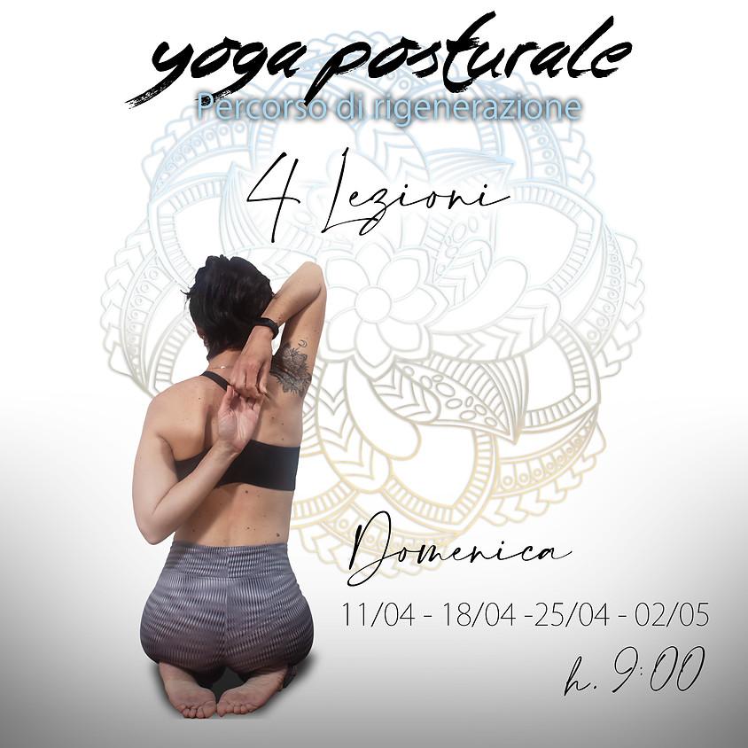Yoga Posturale - Percorso di Rigenerazione con Daniela (4 incontri)