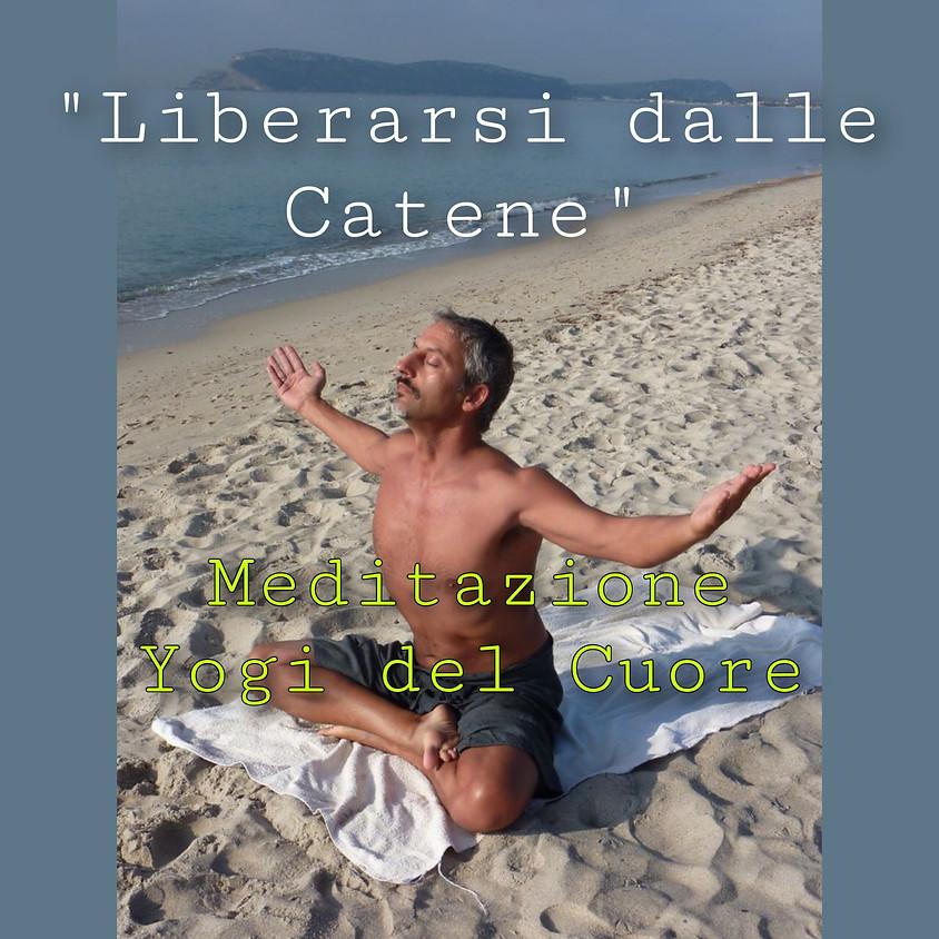 Liberi dalla catene! Meditazione Yogi del cuore con Nemir **Gratis** - Per Tutti i Livelli