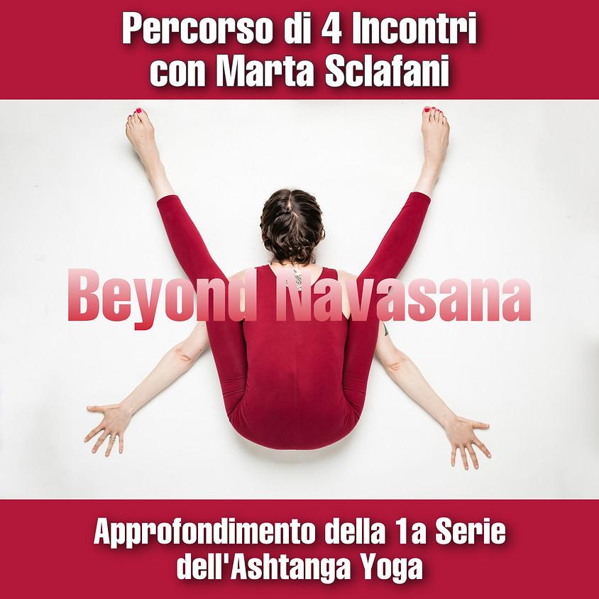 Beyond Navasana con Marta Sclafani - Percorso di 4 Incontri