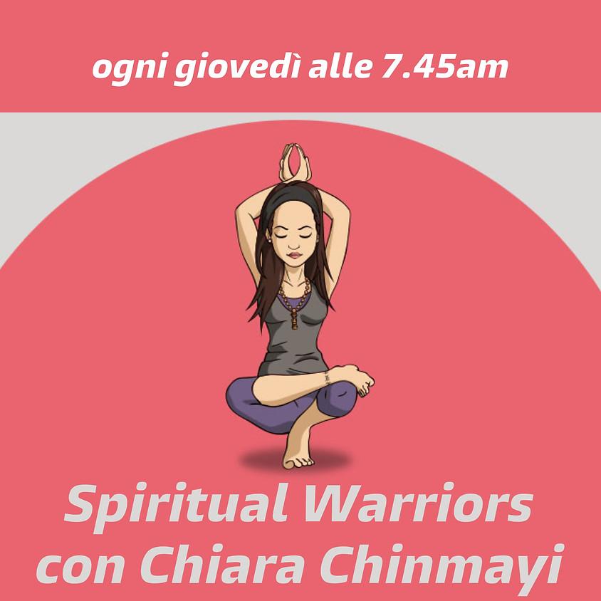 Spiritual Warriors con Chiara Chinmayi - Per Tutti