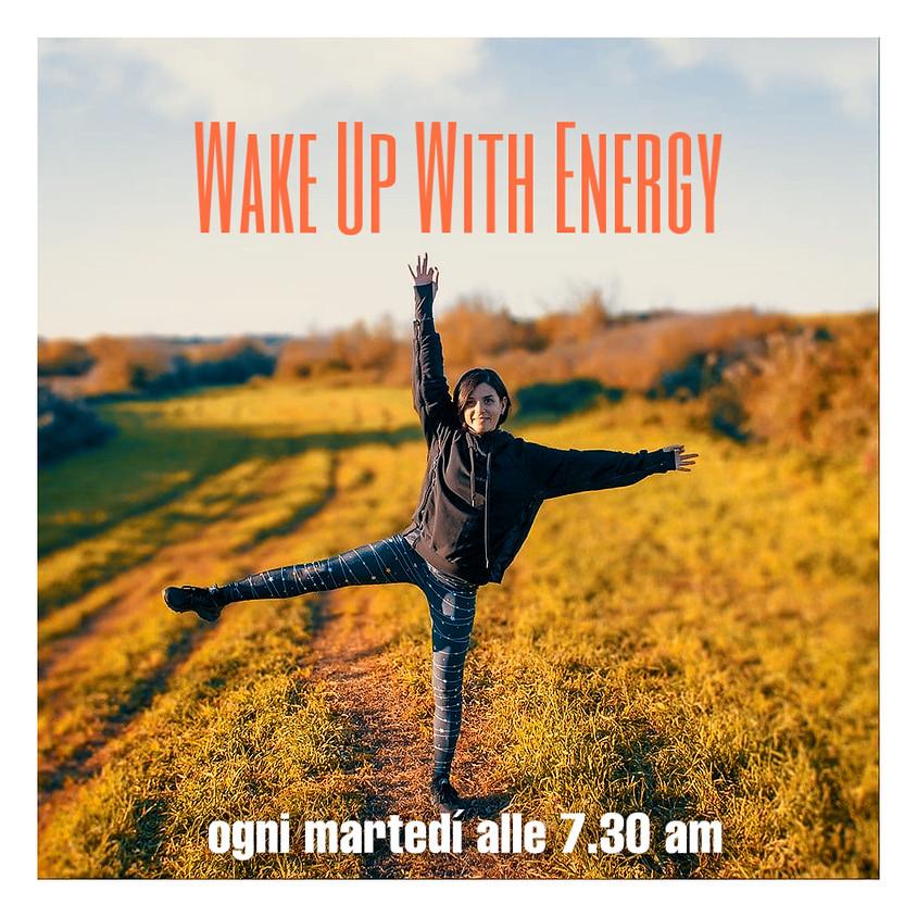 Wake-up with Energy - Hatha Flow Mattutino con Daniela - Per Tutti i Livelli