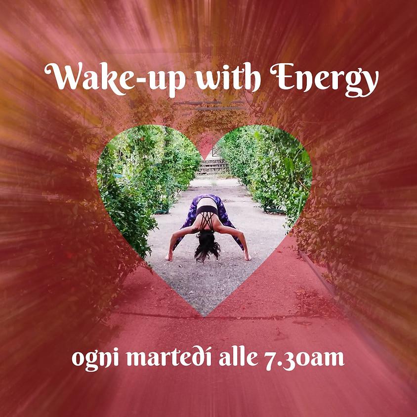 Wake-up with Energy - Hatha Flow Mattutino con Daniela - Per Ogni Livello