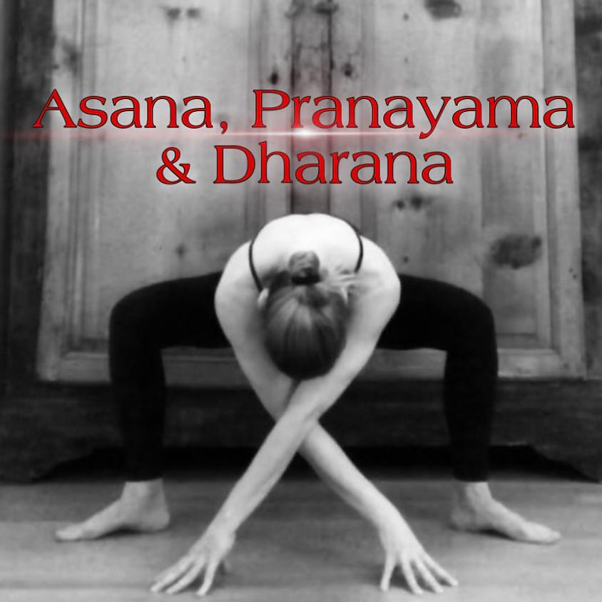 Asana, Pranayama & Dharana - Hatha II con Glenda