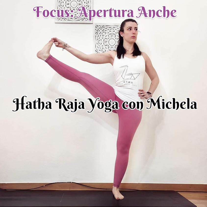 Hatha Raja Yoga con Michela - Focus su Apertura Anche - Multilivello
