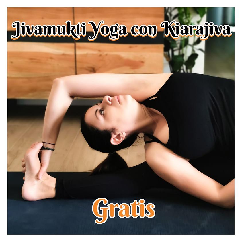 Jivamukti Yoga con Kiarajiva **Gratis**