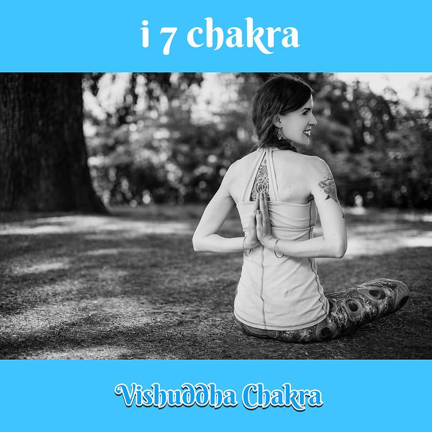 Pranayama, Pratyahara e Mantra Yoga  - i 7 Chakra - Incontro dedicato al Vishuddha Chakra