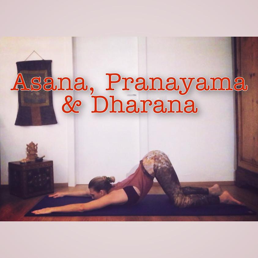 Pratica Hatha Yoga con Glenda - Asana, Pranayama e Dharana - Livello Intermedio