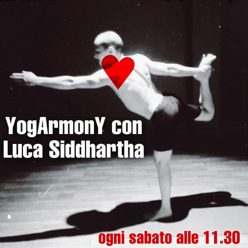 Pratica YogArmonY con Luca Siddhartha - Per Tutti