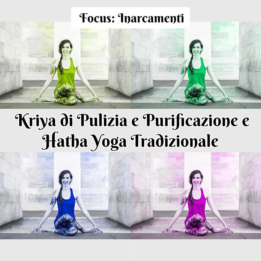 """Kriya di Pulizia e Purificazione e Hatha Yoga Tradizionale con Marta - Approfondimento su """"Inarcamenti"""""""