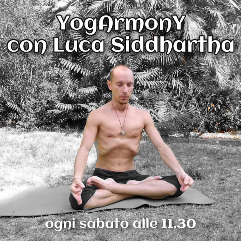 YogArmonY con Luca Siddhartha - Per Tutti i Livelli