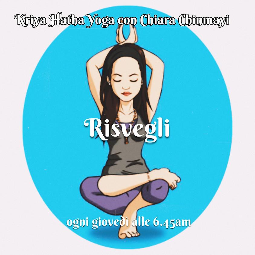 Risvegli - Kriya Hatha Yoga con Chiara Chinmayi - Per Tutti
