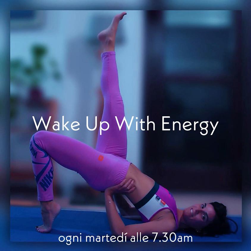 Wake-up with Energy - Hatha Flow Mattinale con Daniela - Per Tutti