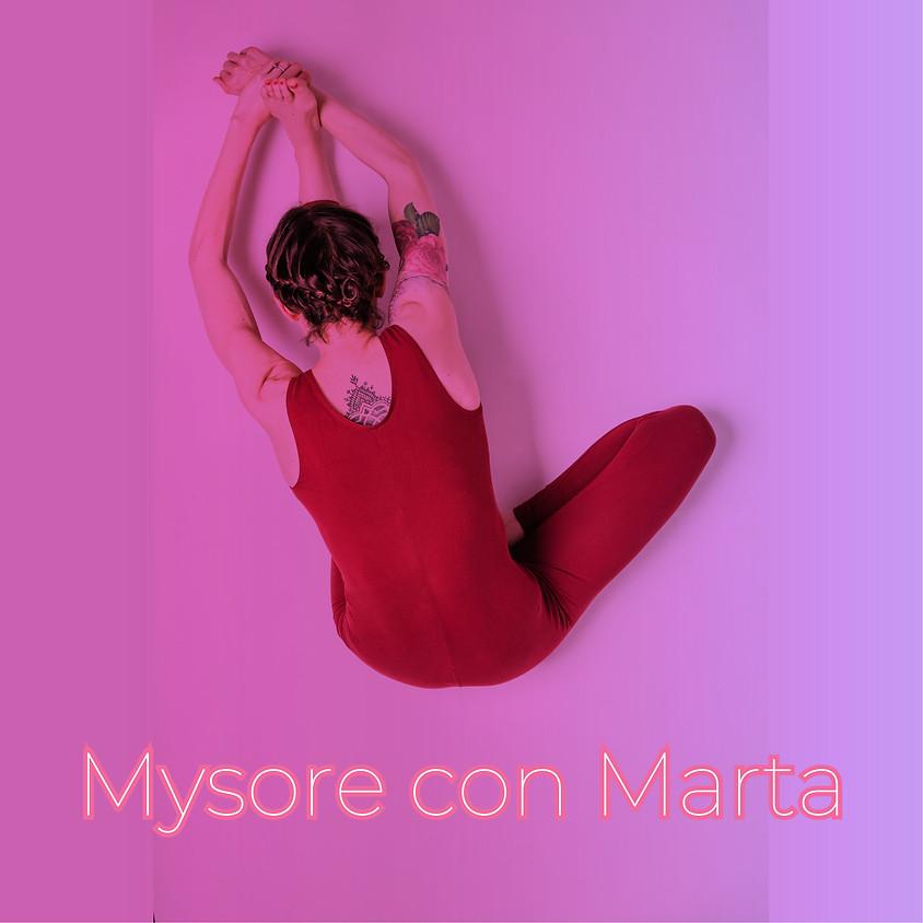 Ashtanga Yoga - Mysore style con Marta - Per Tutti i Livelli