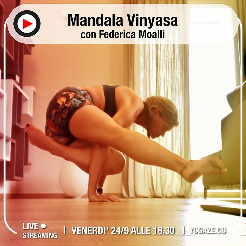 Mandala Vinyasa con Federica Moalli - Per Tutti