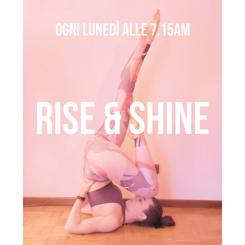 Rise & Shine - Hatha Raja Yoga con Michela Granconato