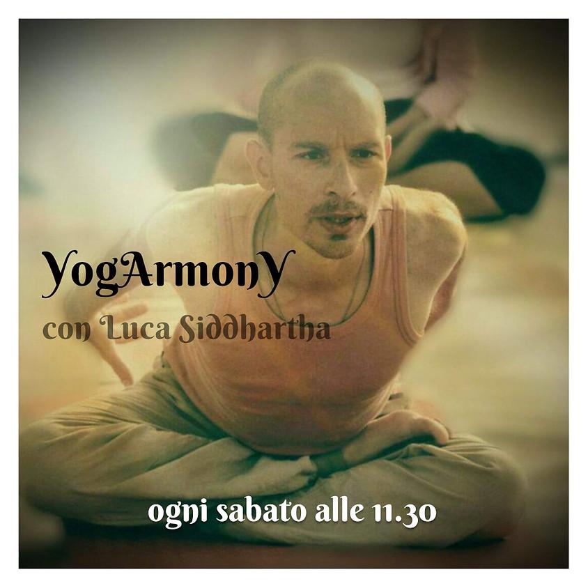 Pratica YogArmonY con Luca Siddhartha - Per Ogni Livello