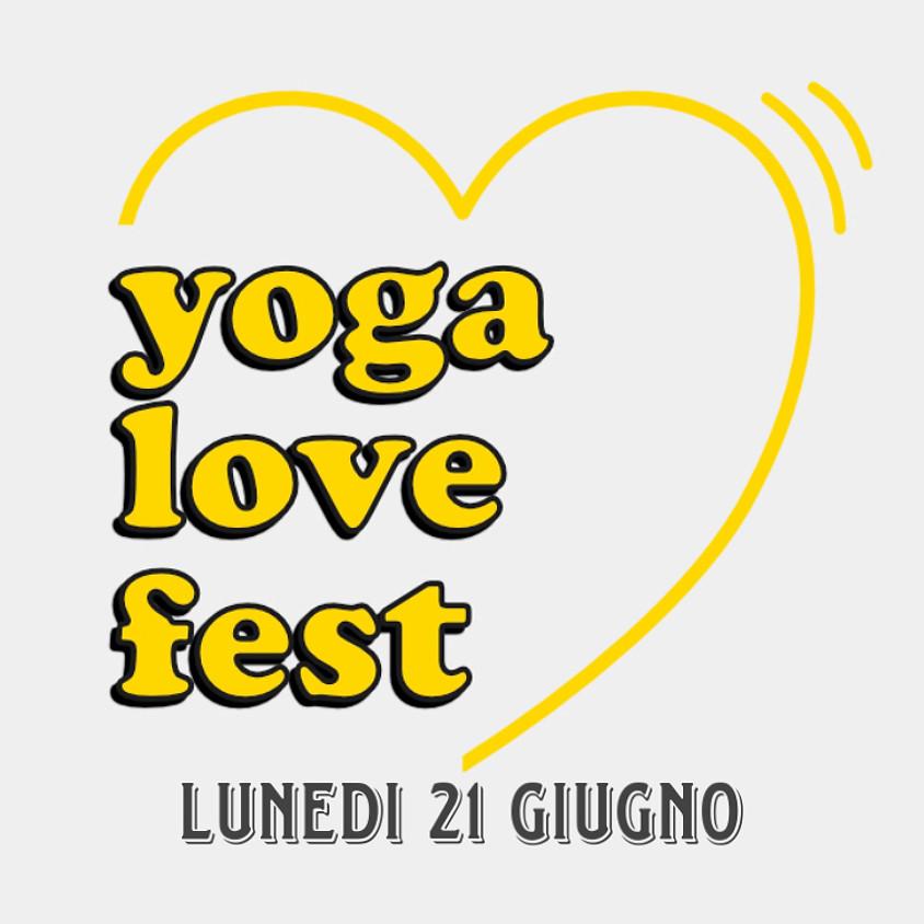 Yoga Love Fest - Lunedì 21 Giugno 2021