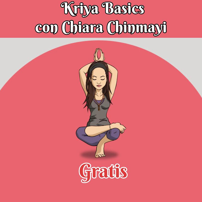 Kriya Basics con Chiara Chinmayi **Gratis**