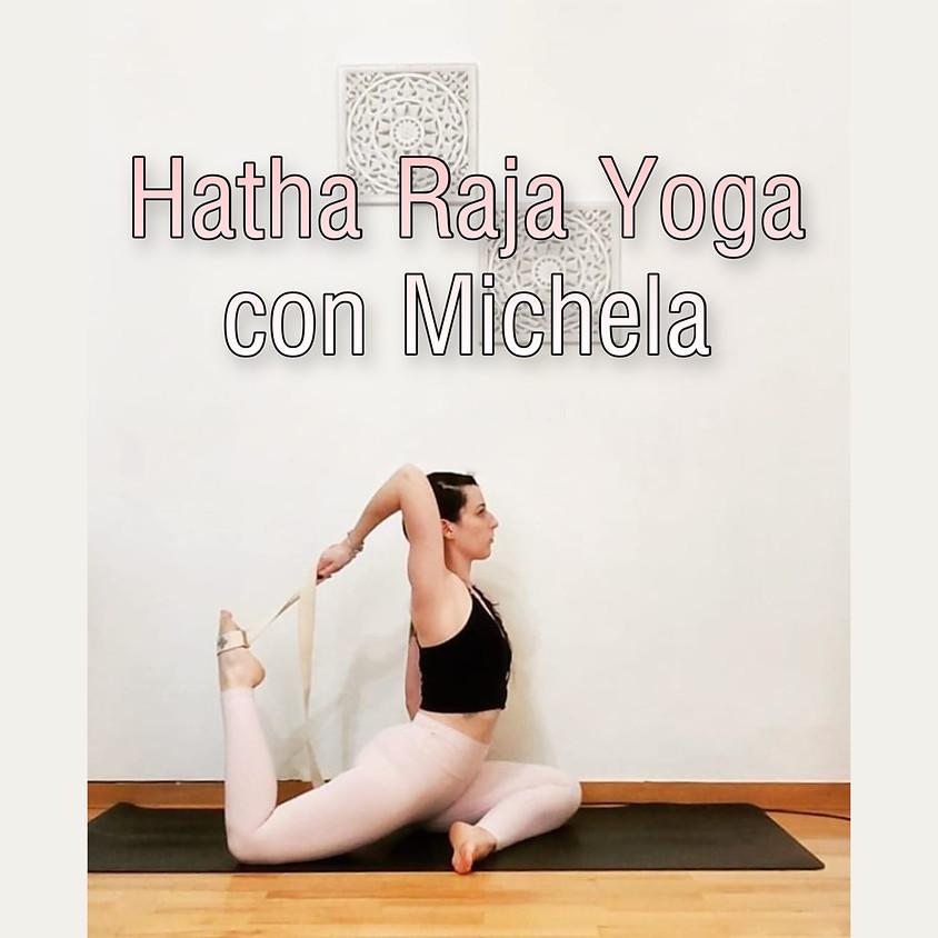 Hatha Raja Yoga con Michela - Per Tutti i Livelli