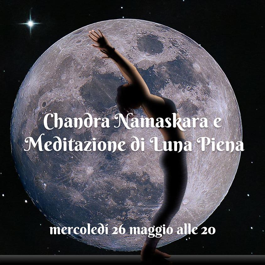 Chandra Namaskara e Meditazione di Luna Piena con Daniela Marciano