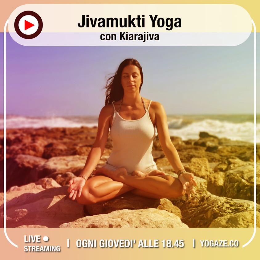 Jivamukti Yoga con Kiarajiva - Per Tutti Ogni Livello