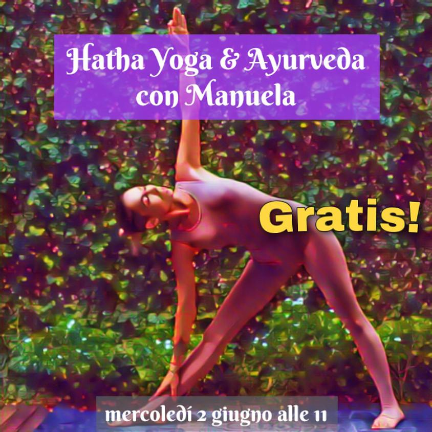 Hatha Yoga & Ayurveda con Manuela  - Gratis - Per Ogni Livello