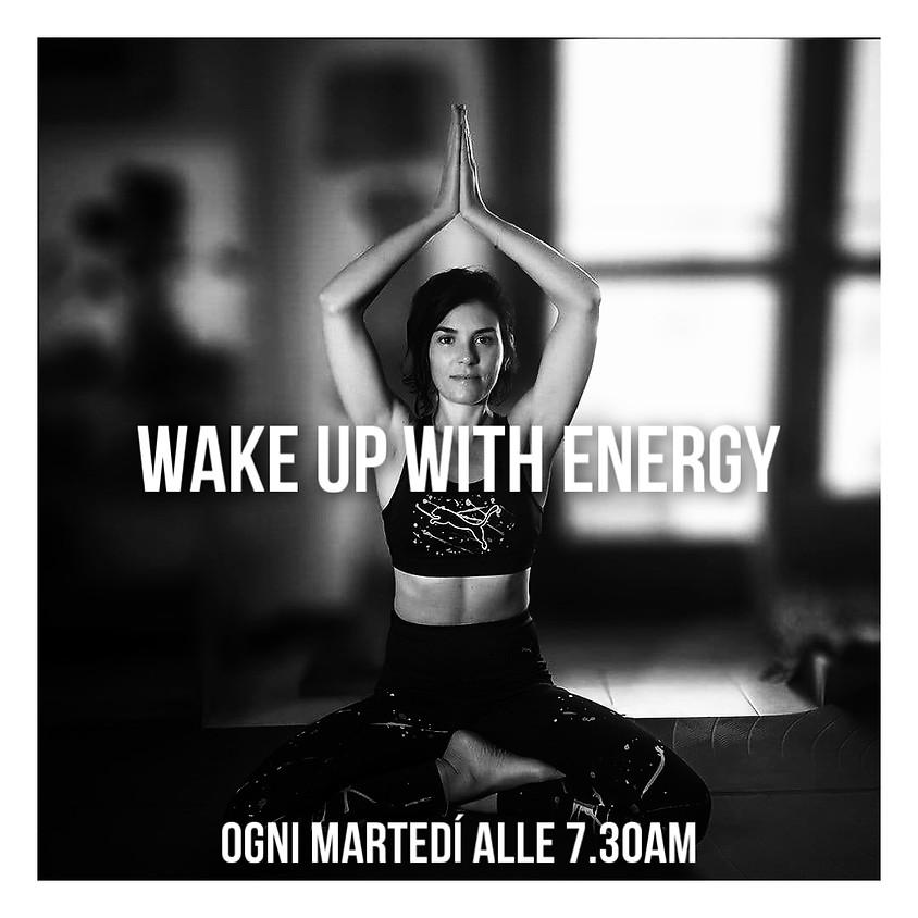 Wake-up with Energy - Hatha Flow Mattutino con Daniela - Per Tutti
