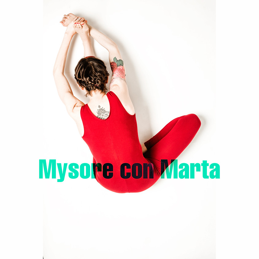 Mysore style - Ashtanga Yoga con Marta