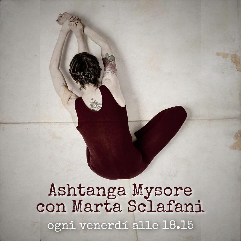 Pratica Mysore - Ashtanga Yoga con Marta Sclafani
