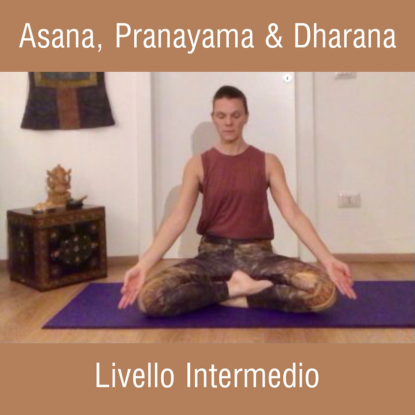Hatha Yoga con Glenda - Asana, Pranayama e Dharana - Livello Intermedio