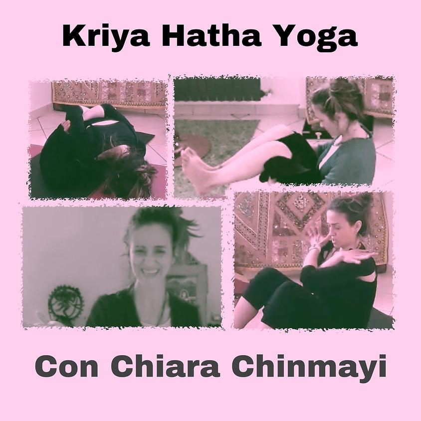 La Pratica Kriya Hatha Yoga di Chiara Chinmayi - Multilivello