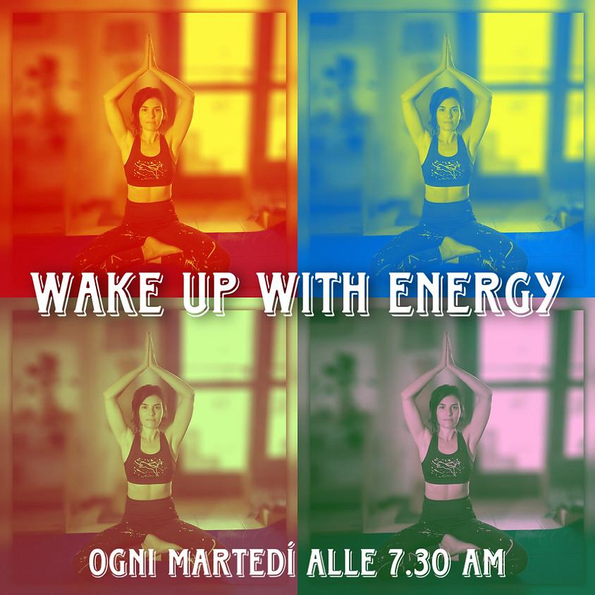 Wake-up with Energy - Hatha Flow Mattutino con Daniela (Promo -20%)