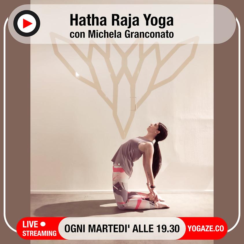 New Moon Flow: Hatha Raja Yoga con Michela Granconato (Per Tutti)