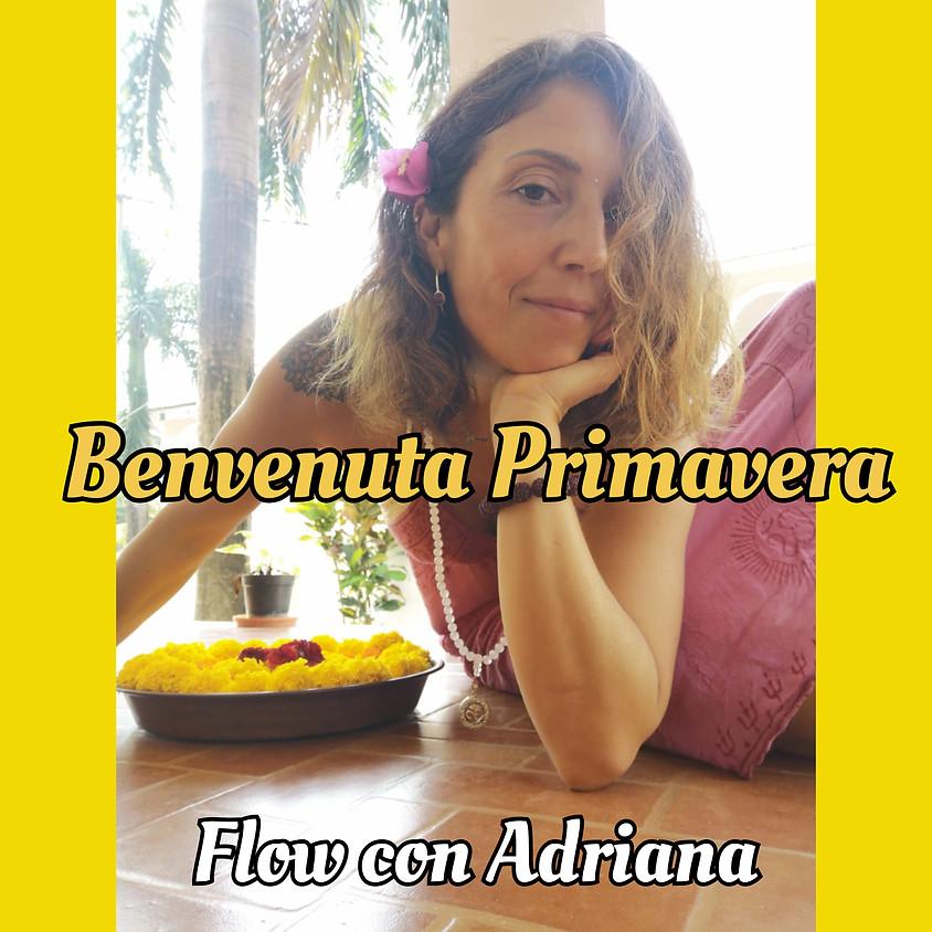 Benvenuta Primavera 🌼🌷! Flow con Adriana aka Mi Zona Yoga - Per Ogni Livello