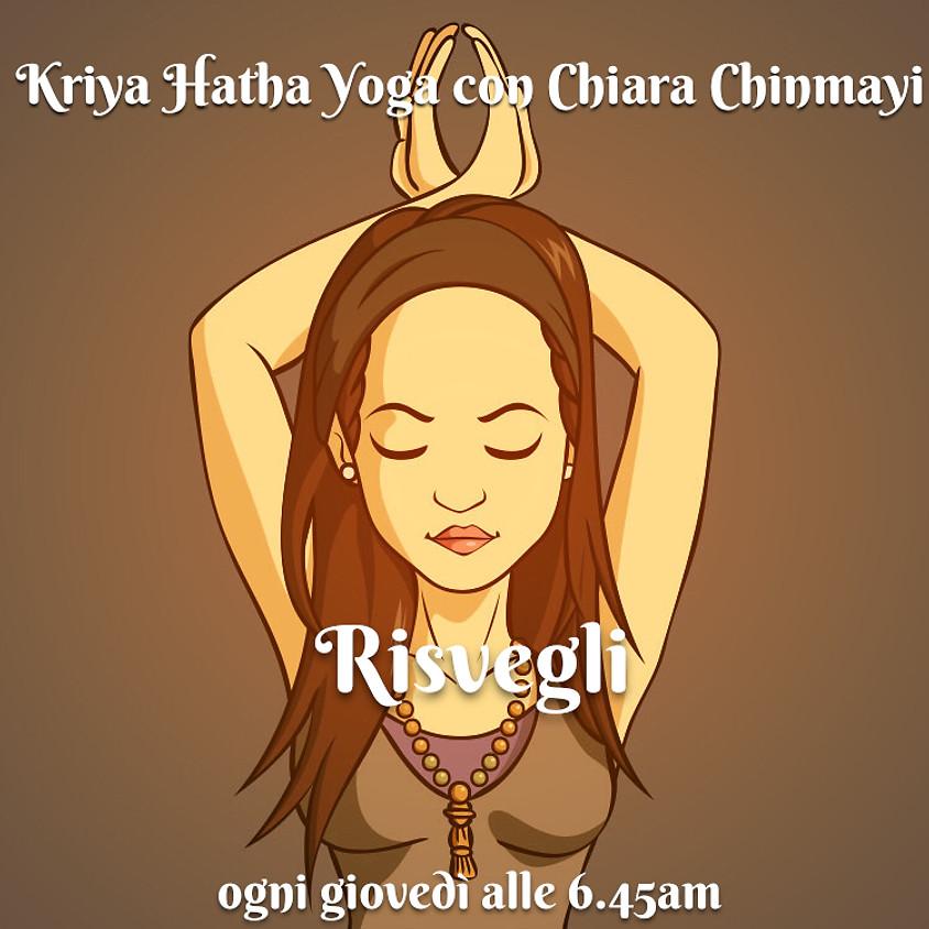 Risvegli - Kriya Hatha Yoga con Chiara Chinmayi - Per Tutti i Livelli