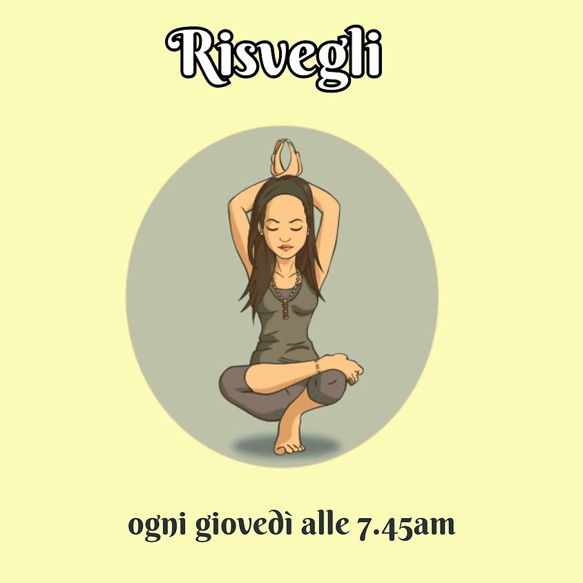 Risvegli - Kriya Hatha Yoga di Chiara Chinmayi - Per Ogni Livello