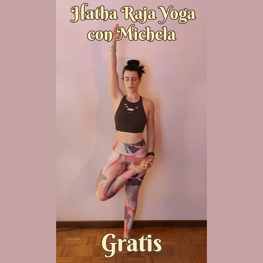 Hatha Raja Yoga con Michela - **Gratis** - Multilivello