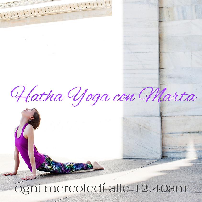 Pratica Hatha Yoga con Marta | Multilivello
