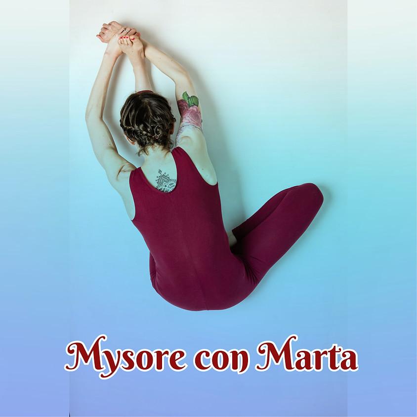 Ashtanga Yoga - Mysore style con Marta