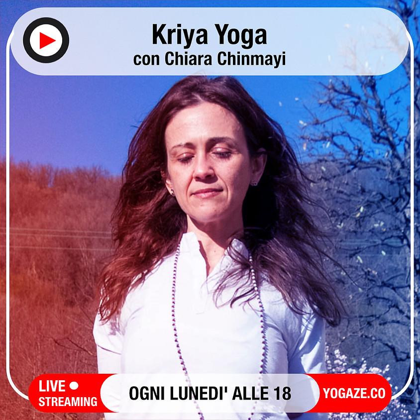 Kriya Yoga di Chiara Chinmayi - Per Tutti i Livelli