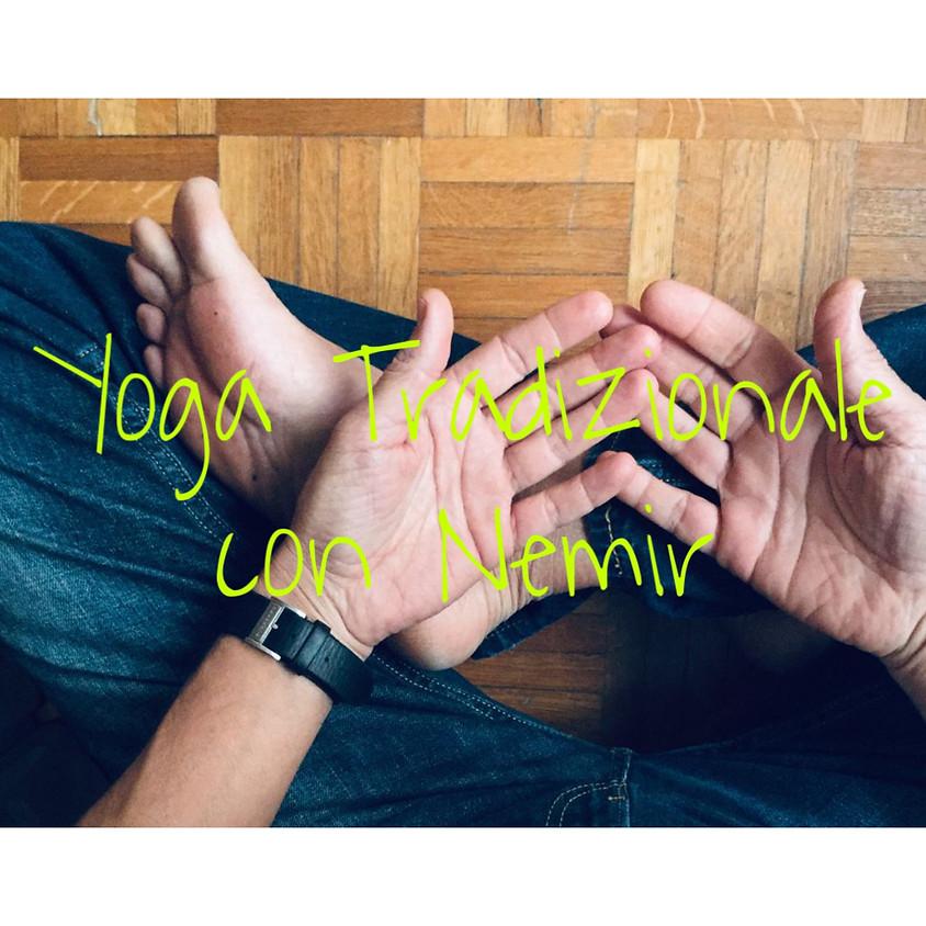 Pratica Yoga Tradizionale con Nemir **Gratis**