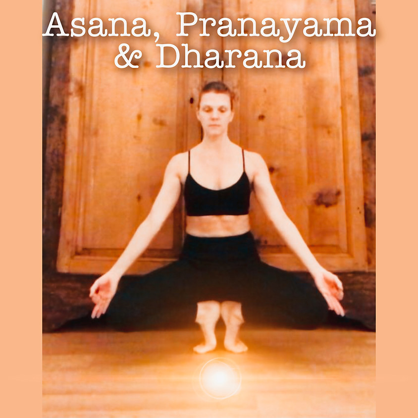 Asana, Pranayama & Dharana - Hatha Yoga con Glenda - Livello Intermedio