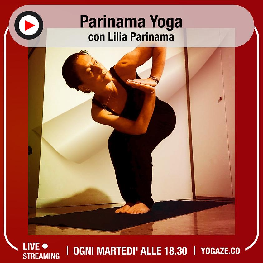 Parinama Yoga con Lilia Parinama - Per Tutti i Livelli