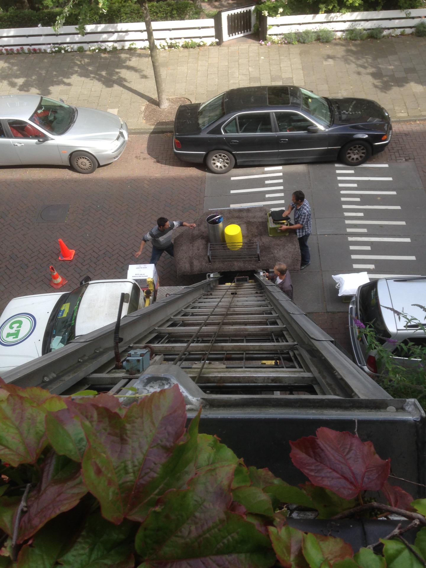 verhuislift- verhuizing Amsterdam
