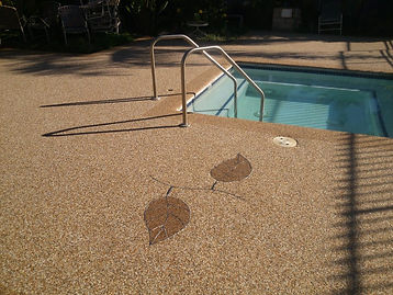 pool deck epair, conret over,pool deck, epoxy, rockss,epoxy rocks