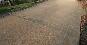 Concrete, overlay, decorative, repair concrete, goldenlook resurfacing, goldenlook, epoxy, stone, natural stone, affordable, repair, dfw, Euless, epoxy manufacturing, pebble stone, Chattahoochee , river rock