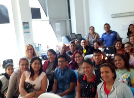 Empezamos el año actualizándonos y capacitando a nuestros distribuidores en Ecuador