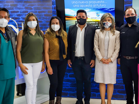 Agradecimiento al Colegio de Optometristas del Pichincha
